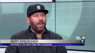 Bert Kreischer Makes Local News The Funniest Ever