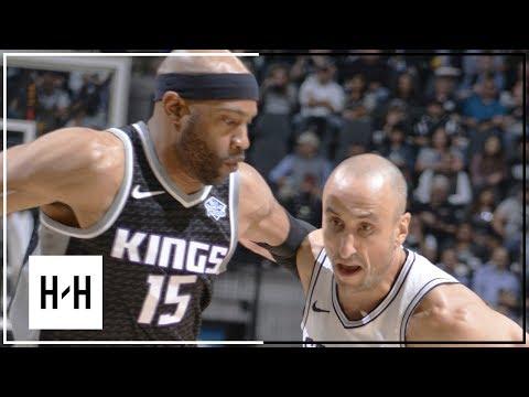 San Antonio Spurs Full Highlights vs Sacramento Kings   April 9, 2018   2017-18 NBA Season (видео)