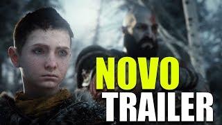 SAIU O NOVO TRAILER DO NOVO GOD OF WAR !!