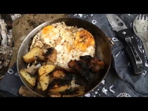 Bushcraft Breakfast