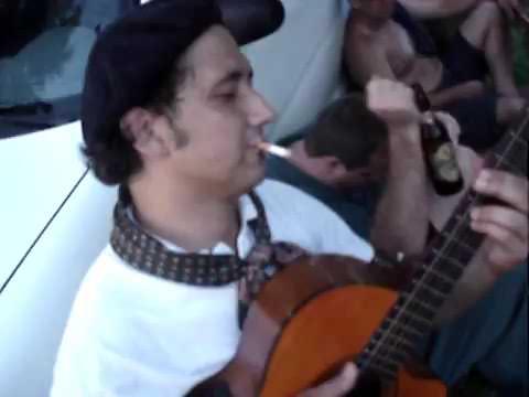 Tito Callegaro e Mauro Augusto tocando Mercedita em Caibaté, nas Missões - Chamamé