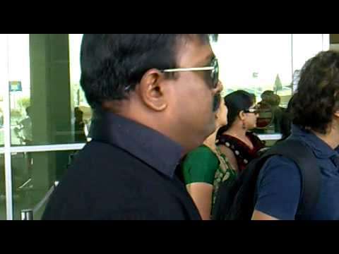 DILEEP KAVYA&BHAVANA IN DOHA AIRPORT