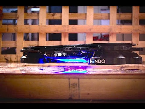 'It's - Hendo is introducing the world's first REAL hoverboard. Something something great Scott!