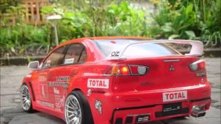 Gr Drift86  RC Drift Cars Tamiya TT-01 1:10 Karosserie BMW 3, Porsche 911 Brushless