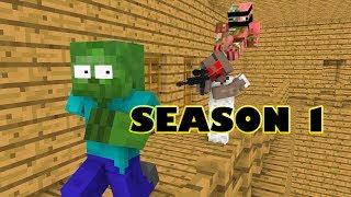 Video Monster School : SEASON 1 - Minecraft Animation MP3, 3GP, MP4, WEBM, AVI, FLV Juli 2018