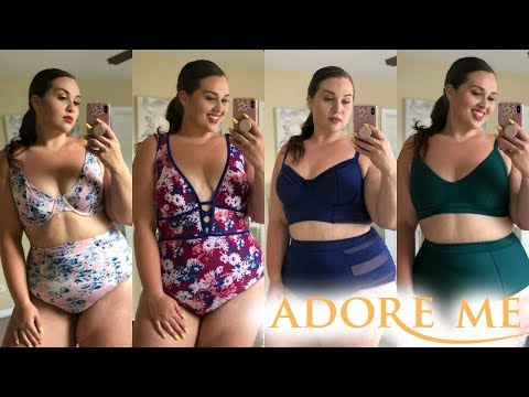 Adore Me Swim Try On Haul 2018 |Plus Size Fashion|