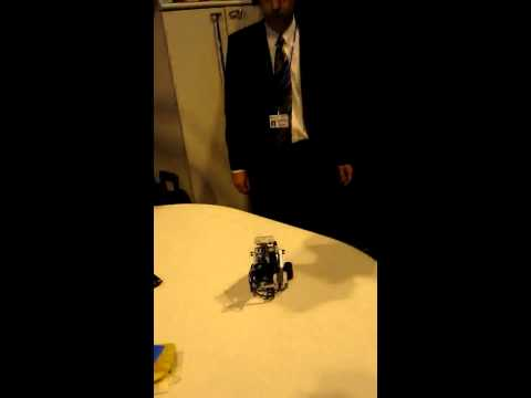 Brain Computer Interface Controlling a Robot – The Gadget Show Live 2011