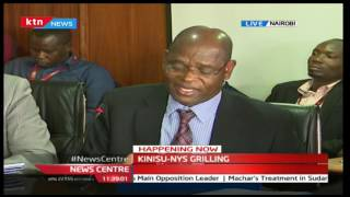 EACC Chair Kinisu opens new frontline against his own commissioners