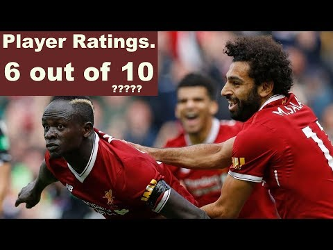 Liverpool Vs Crystal Palace, 4-3. Highlights - Player Ratings.