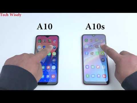 SAMSUNG A10s VS A10 Speed Test