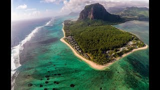 Premier vol du DJI Phantom 4 à l'Île Maurice, Flic-en-Flac. First test of the new DJI Phantom 4, Mauritius Island, Indian Ocean.