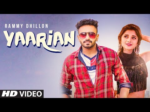 YAARIAN Video Song | Rammy Dhillon Ft. Kanika Maan