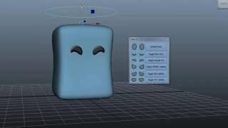 Cube- 2d Face UI