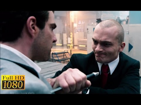 Hitman Agent 47 (2015) - Agent 47 Vs John Smith | Factory Fight Scene (1080p) FULL HD