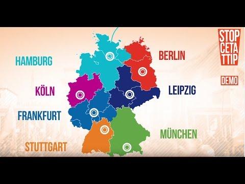 Am 17.9. CETA und TTIP stoppen! Demonstrationen in 7 Städten