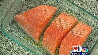 Watch James cook a Salmon using a great tasting recipe. Do you have a better recipe? Leave a comment below. Ingredients: ...