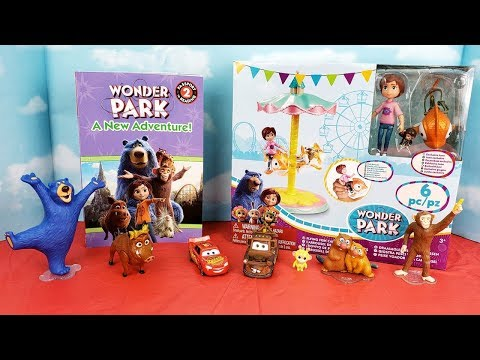 Wonder Park Movie Toy Set Unboxing and Book Read Aloud with Cars & LOL Dolls