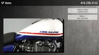 7. 2011 Triumph Thunderbird ABS Bay Area cruiser  - San Francisco
