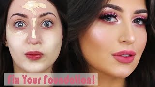 Video How To: Fix your Fondation in a Minute! + Flawless Skin Makeup Tutorial | Melissa Samways MP3, 3GP, MP4, WEBM, AVI, FLV Agustus 2018