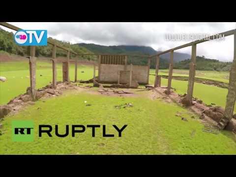 Un pueblo de Venezuela reaparece tras permanecer sumergido más de 30 años