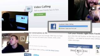 How to use Skype integrated Facebook Video Chat