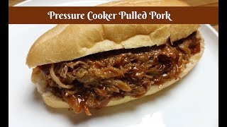 """Join Eric as he makes Pressure Cooker BBQ Pulled Pork in the Shamrock6.5 Quart Electric Pressure Cooker. If you don't have a smoker or you are unable to BBQ because of restrictions, cooking a pork butt or pork shoulder in an electric pressure cooker is a good option. The meat turns out tender, juicy, and is easy to pull. Eric uses Amy's homemade Honey BBQ Sauce. It is absolutely delicious! Shamrock 6 Quart Electric Pressure Cooker with Voice Command:http://amzn.to/2ioU8TyAmy's Honey BBQ Sauce Recipe:https://youtu.be/sUnBfQvgoRgShamrock 6.5 Quart Electric Pressure Cooker with Voice Command Unboxing:https://youtu.be/Ffs8CBGXEpAAmy Learns to Cook is all about learning to make simple, tasty food from fresh ingredients.  One year ago, I made a commitment to stop eating processed convenience foods.  I decided to learn to cook """"real"""" food. Join me!  Let's learn to cook together! Enjoy! Please share! Please SUBSCRIBE to my channel, LIKE, and leave a COMMENT.Please visit my website: www.amylearnstocook.comAny links in this description, including Amazon, are affiliate links.I received this product free of charge in exchange for my honest review."""