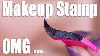 WINGED EYELINER STAMP ... OMG! by Glam Life Guru