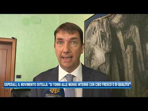 11/09/2020 - OSPEDALI, IL MOVIMENTO 5STELLE: 'SI TORNI ALLE MENSE INTERNE CON CIBO FRESCO'