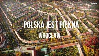 Piękne ujęcia Wrocławia, stolicy Dolnego Śląska w zapierającej dech w piersiach rozdzielczości 4K (UHD).