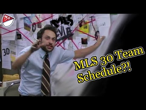 Making A Schedule For 30 MLS Teams