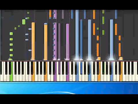 [Piano Tutorial Synthesia]Cher - If I Could Turn Back Time (pr)