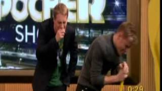 Nicky Byrne on Oliver Pocher show 26.02.2010 Death Spiral