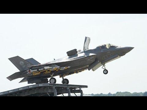 Κύπρος: Προσγειώθηκαν στο Ακρωτήρι Βρετανικά F35B