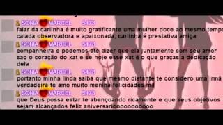 Aniversario Carla 17/02/2015 - Parabens Amor