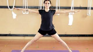 Iyengar Yoga for Knee Pain in Tamil