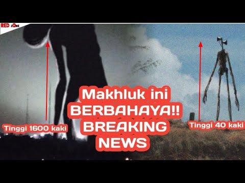 Breaking News Monster Yang Tingginya 40x Lipat Dari Siren Head 🔥Trevor Henderson
