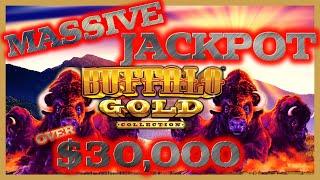 Video ⭐️ BUFFALO GOLD MASSIVE HANDPAY JACKPOT OVER $30K ⭐️$90 MAX BET SPINS ONLY ⭐️30K SUBSCRIBERS SPECIAL MP3, 3GP, MP4, WEBM, AVI, FLV Juli 2019