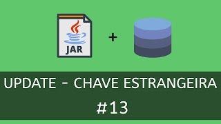 Atualizando registro com chave estrangeira no banco de dados usando composição no Java. Aprenda a comunicar sua aplicação Java com Banco de Dados MySQL de forma simples usando a IDE Netbeans, usando o padrão DAO e ConnectionFactory.