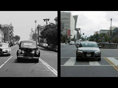 Seventy Years of Los Angeles Then and Now