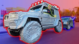 DRIVING THE $400,000 DUCK TAPED TRUCK!