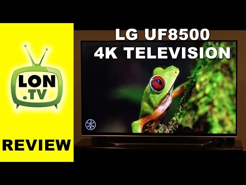 LG UF8500 4k Ultra HD TV Review - 60UF8500 - 65UF8500 Television
