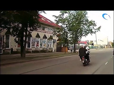 Две аварии с участием мотоцикла и велосипеда произошли за сутки в Великом Новгороде