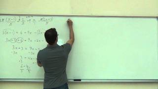 Intermediate Algebra Lecture C.1 Part 10