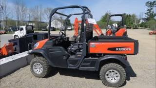 5. Kubota RTVX1120 Walk Around