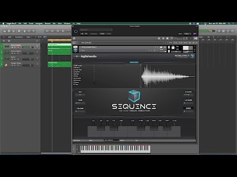 Big Fish Audio Sequence - NAMM 2017