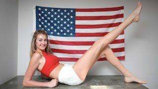 Tak wyglądają najdłuższe nogi na świecie – seksowna Holly Burt