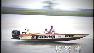 Ian Tricker driving Showdown at Raymond Terrace, N.S.W.