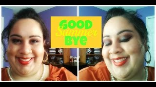 Goodbye Summer - My last Summer Eye look | Inspired by Jaclyn Hill