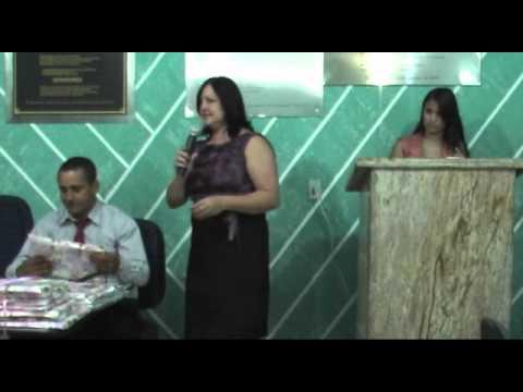 Runião Ordinária Camara Municipal de Jampruca 08/03/2012 - Homenagem às Mulheres