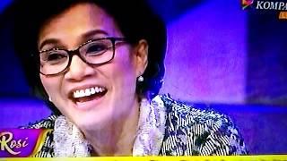 Sri Mulyani di Rossi Kompas TV Nyanyi